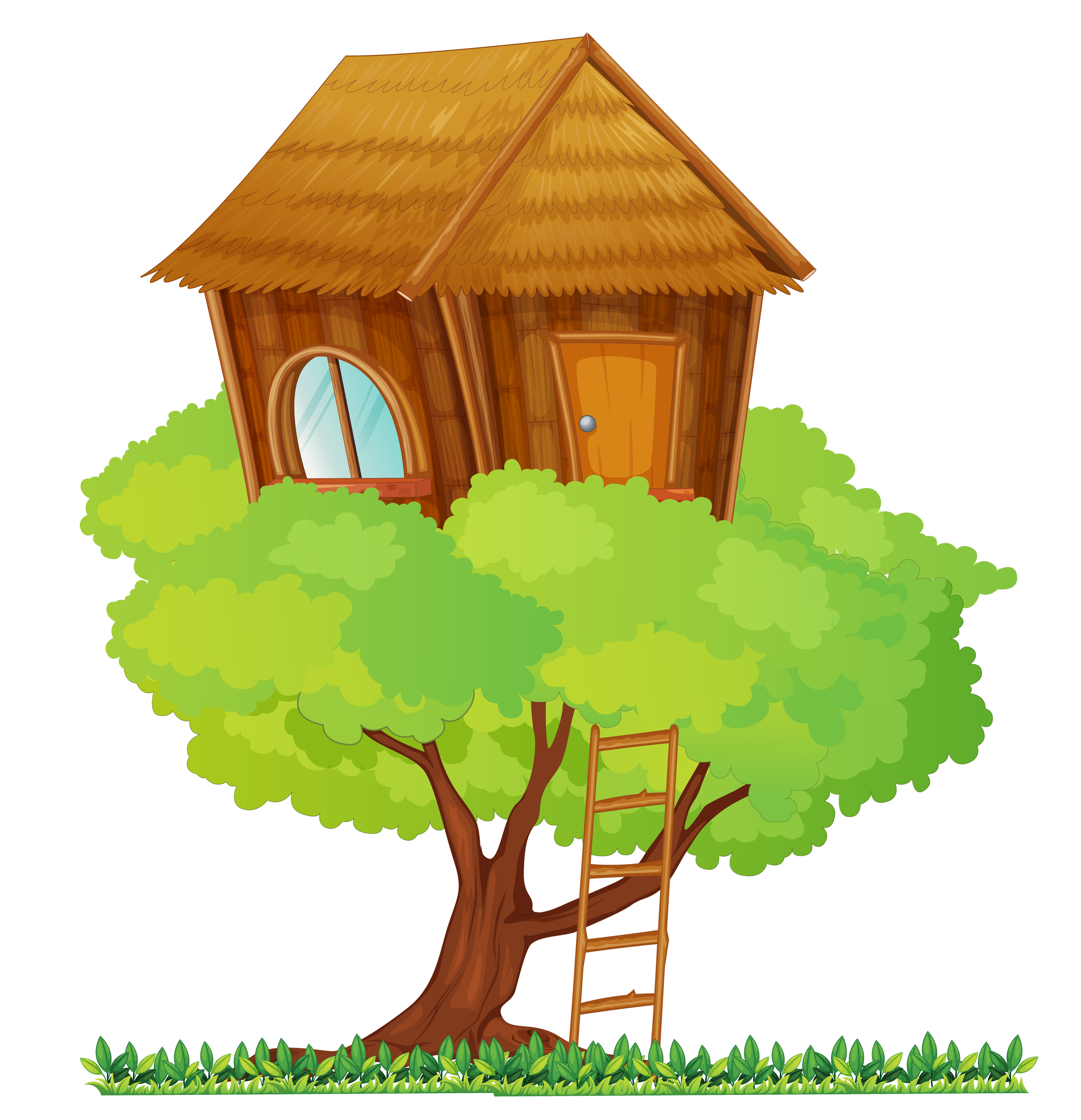 clipart pictures tree house - photo #21